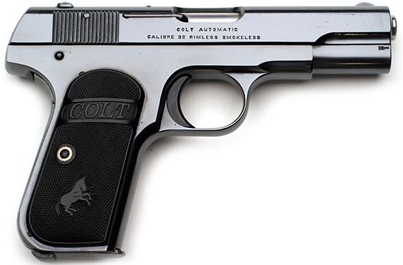 Colt Hammerless .32 Pocket Automatic