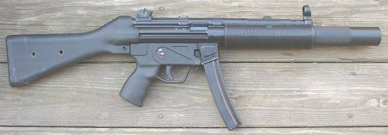 Heckler & Koch mod. MP 5 SD 2